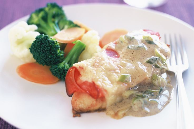Aussie Swiss Chicken recipe...made by my friend on the weekend and it was just delicious!