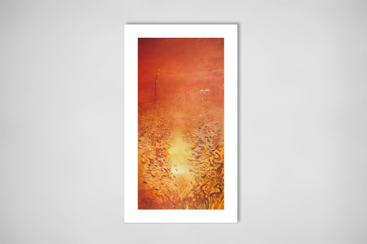"Saatchi Online Artist: Leszek Gęsiorski; Oil, Painting ""TAO"""