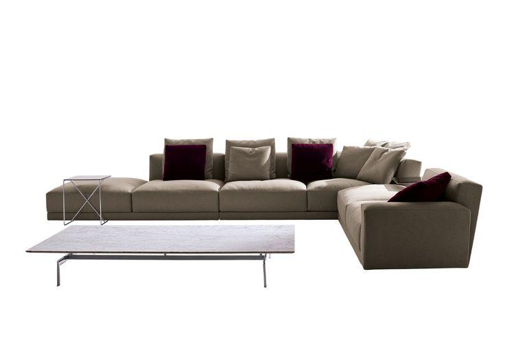 Sofa: LUIS - Collection: B&B Italia - Design: Antonio Citterio