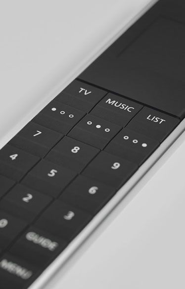 #BeoRemoteOne At Bang & Olufsen, we insist on providing intuitive and easy access to the experience with only one remote for all devices. Discover more at www.bang-olufsen.com/picture/beovision-avant/innovation