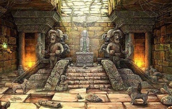 MAYAN: XIBALBA, 'Place Of Fear' Described As A Underworld