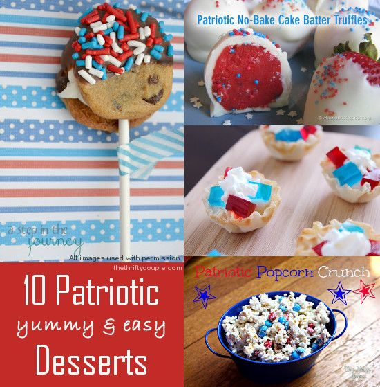 festive july 4th desserts