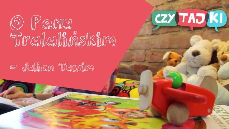 O panu Tralalińskim - Julian Tuwim | Wiersze dla dzieci #czytajki #czytajkipl #czytamybajki