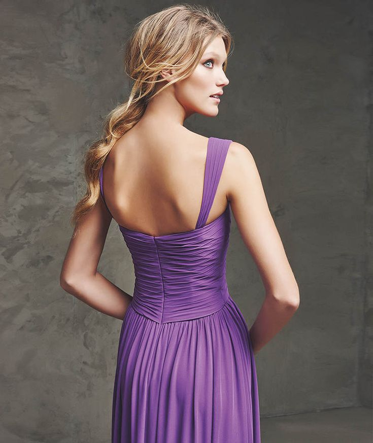 603 best Vestidos lila morado largos/ Long lilac purple dresses ...