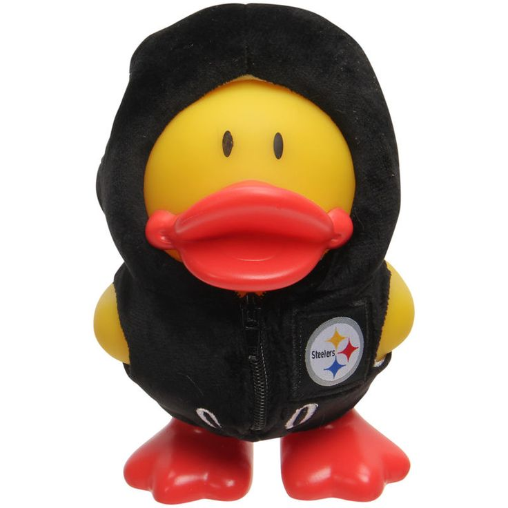 Pittsburgh Steelers Uniform Duck Bank