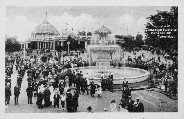 Wayback Wednesday | Gooderham Fountain, CNE grounds, 1911