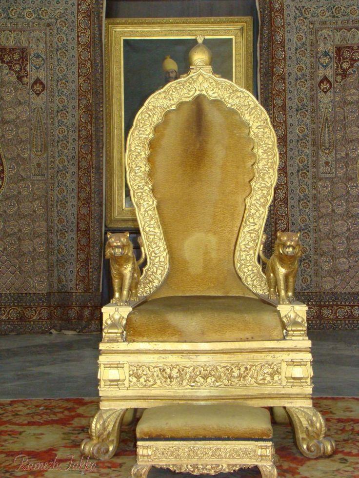 nizams royal throne in incredible india