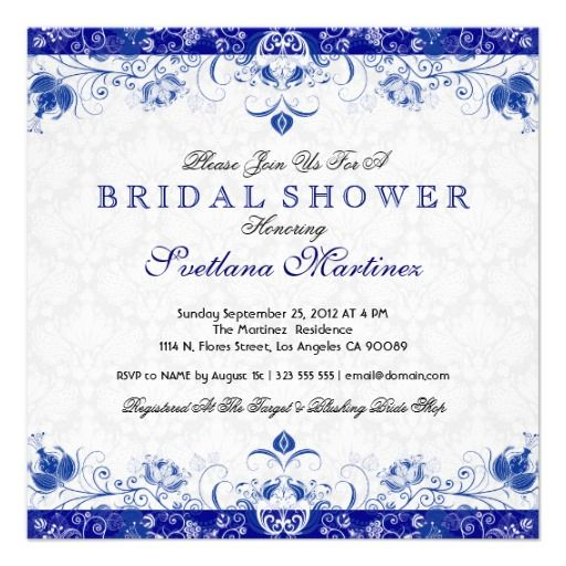374 Best Bridal Shower Invitations Images On Pinterest
