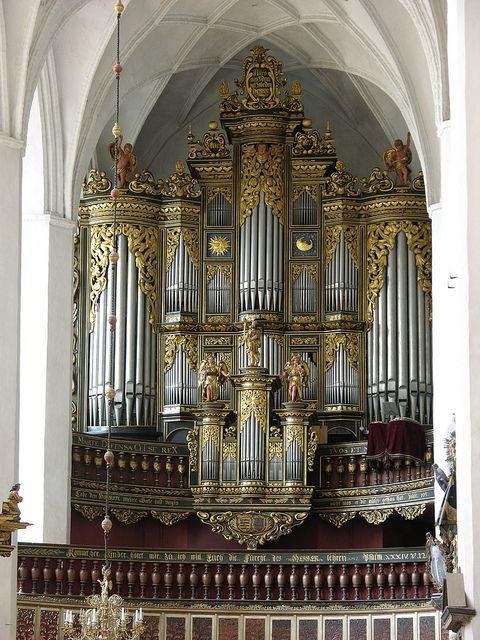 Luckau - Saint Nicholas Church, organ by pietbron, via Flickr