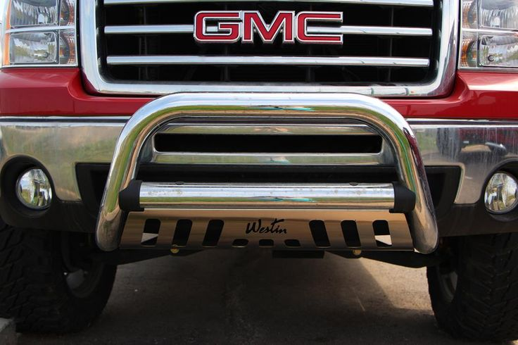 Westin Bullbar on 13 GMC Sierra at Capital Customs  GM and