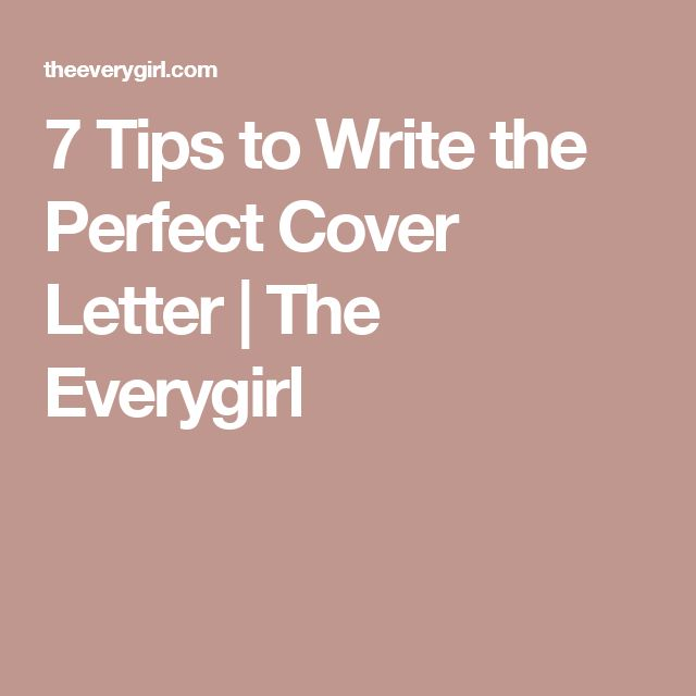 Best 25+ Perfect cover letter ideas on Pinterest Perfect resume - guide to writing a cover letter