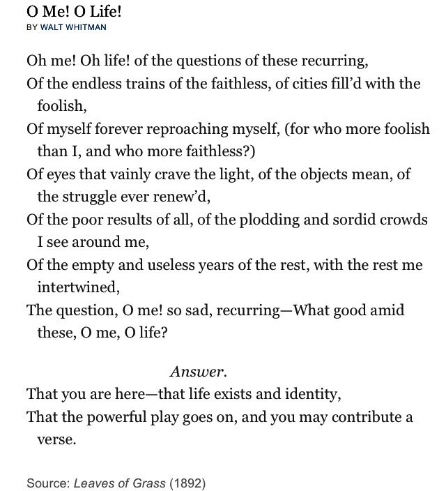 Good or bad POEM? honest answers.?