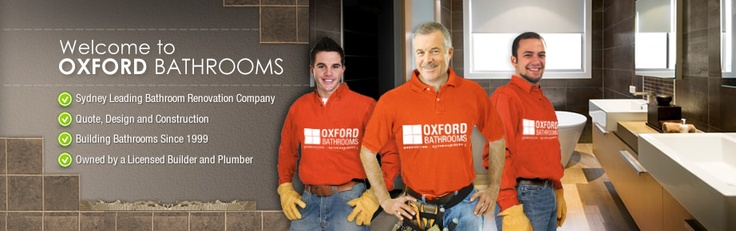Oxford Bathrooms is a leading bathroom renovations company Sydney since 1999, specialising in complete bathroom renovations, bathroom designs, and supplying bathroomware and tiles