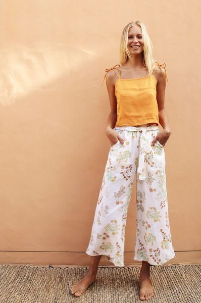 74cbcc0e0ea ACACIA Pants - wildflower linen
