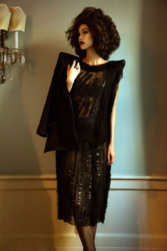 retro glamour7 Sarah English by Jeff Tse in Glam Girl for Fashion Gone Rogue