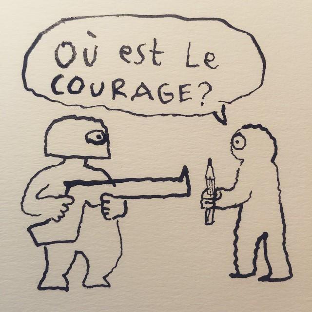 @joannsfar  Charlie Hebdo