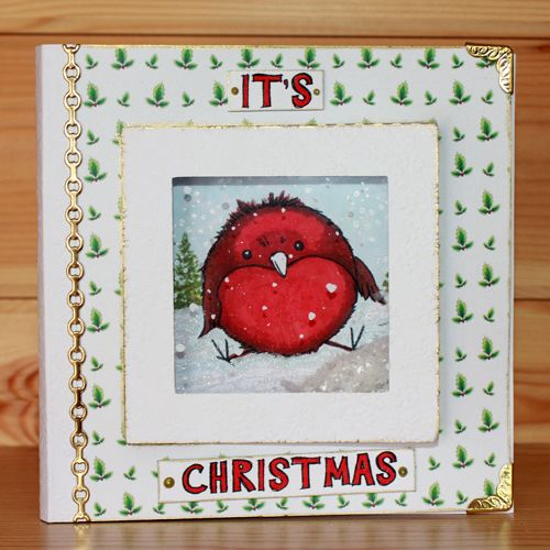 Introducing the very popular 'Round Robins' designed by the very talented Sharon Bennett. Card by Elaine Parker