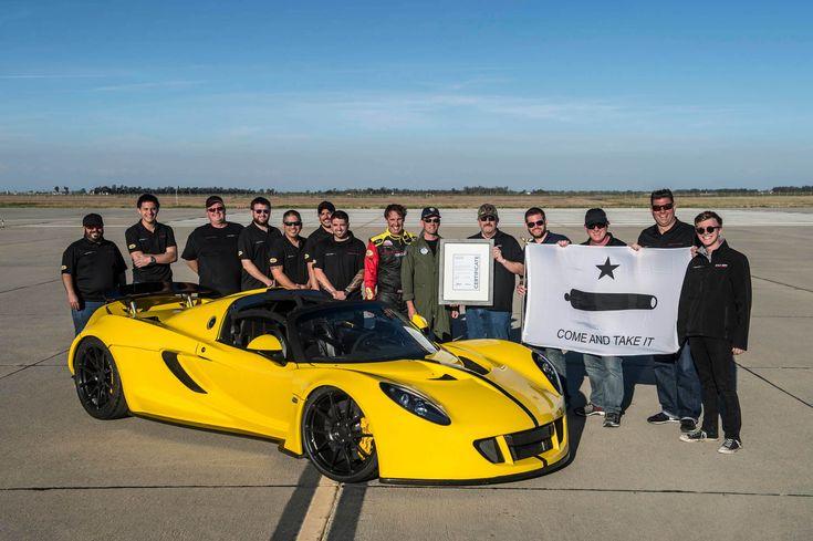 Team Hennessey Venom Gt Spyder