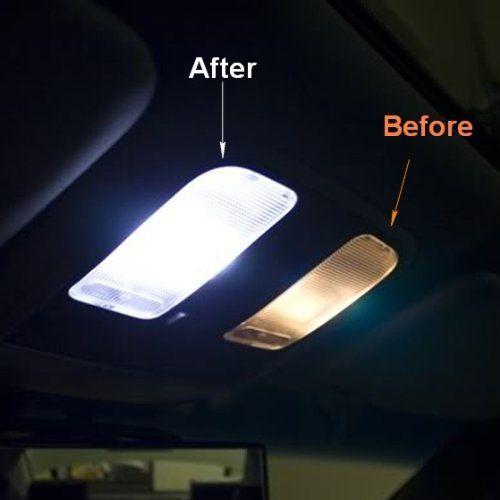 Amazon.com: Partsam 2003-2008 Honda Element White Interior Lights LED Package Deal(6 Pieces): Automotive