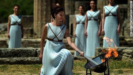 Olympics 2016: Torch begins journey to Brazil  - CNN.com