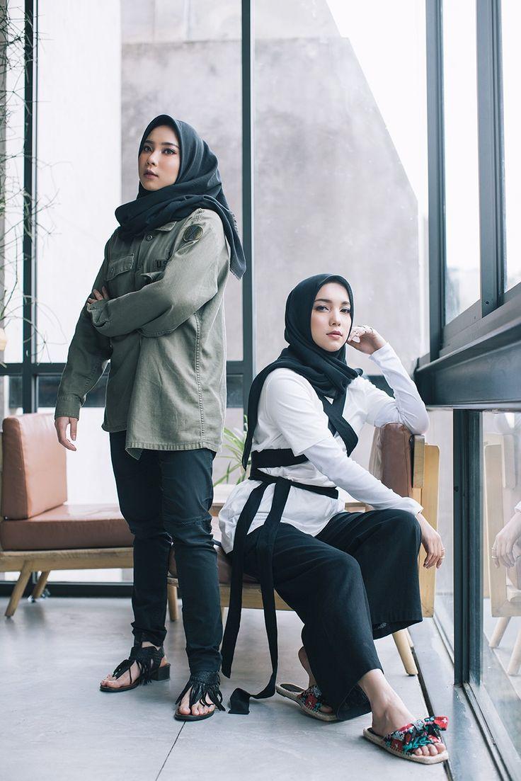 Jenahara Nasution dan adik perempuannya, Jane Nasution, aplikasikan semua trend terkini untuk jadi inspirasi outfit Lebaran nanti.