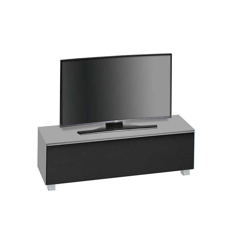 Tv Lowboard In Grau Glas Schwarz Jetzt Bestellen Unter Moebel