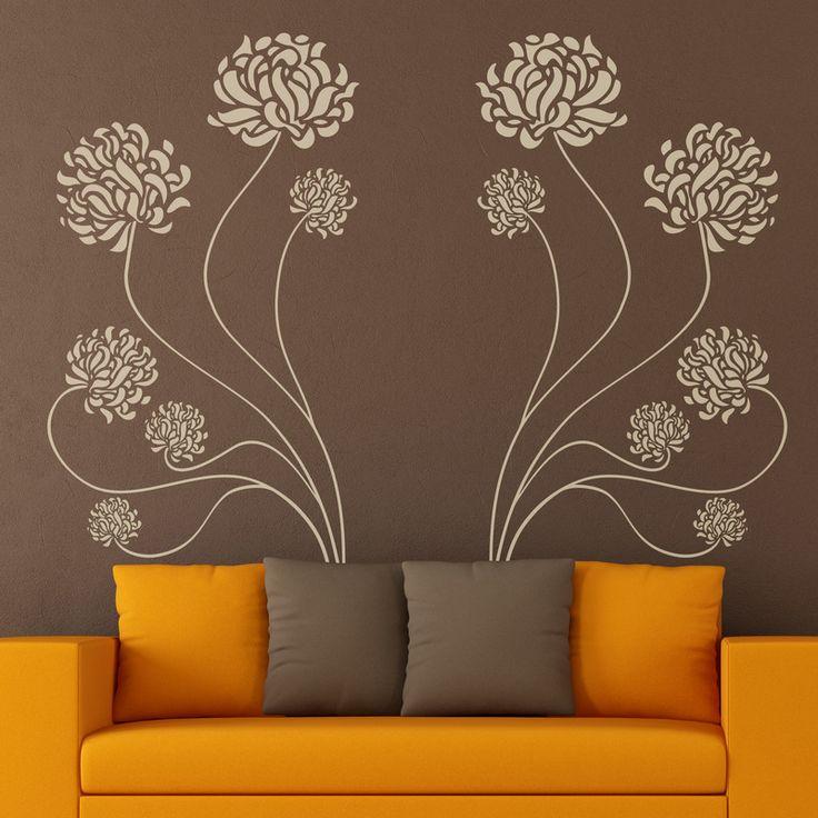 84 best vinilos decorativos florales images on pinterest vinyls florals and products - Teleadhesivo vinilos decorativos espana ...