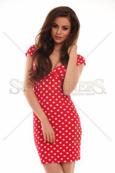 Rochie MissQ Happy Dots Red