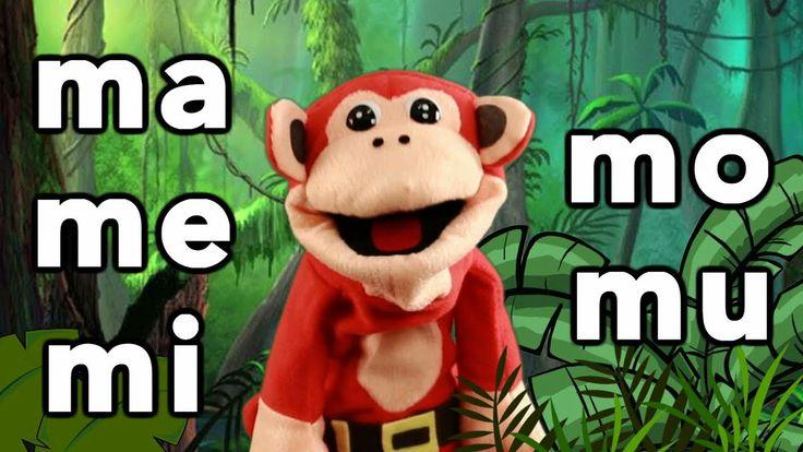 Sílabas ma me mi mo mu - El Mono Sílabo - Videos Infantiles - Educación ...