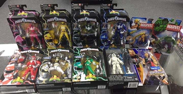 A couple NEW toys in at Dallas Vintage Toys: Mighty Morphin Power Rangers, Star Wars and more! #fashion #style #stylish #love #me #cute #photooftheday #nails #hair #beauty #beautiful #design #model #dress #shoes #heels #styles #outfit #purse #jewelry #shopping #glam #cheerfriends #bestfriends #cheer #friends #indianapolis #cheerleader #allstarcheer #cheercomp  #sale #shop #onlineshopping #dance #cheers #cheerislife #beautyproducts #hairgoals #pink #hotpink #sparkle #heart #hairspray…