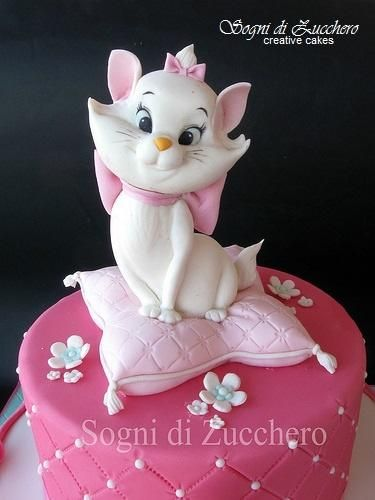 Marie Aristocats - For all your cake decorating supplies, please visit craftcompany.co.uk