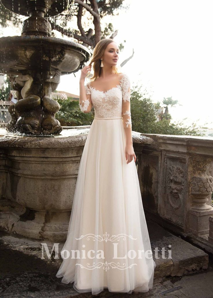 15 best Brautkleid Monica Loretti images on Pinterest