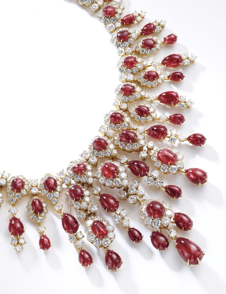 Ruby and diamond necklace, Van Cleef & Arpels, 1971