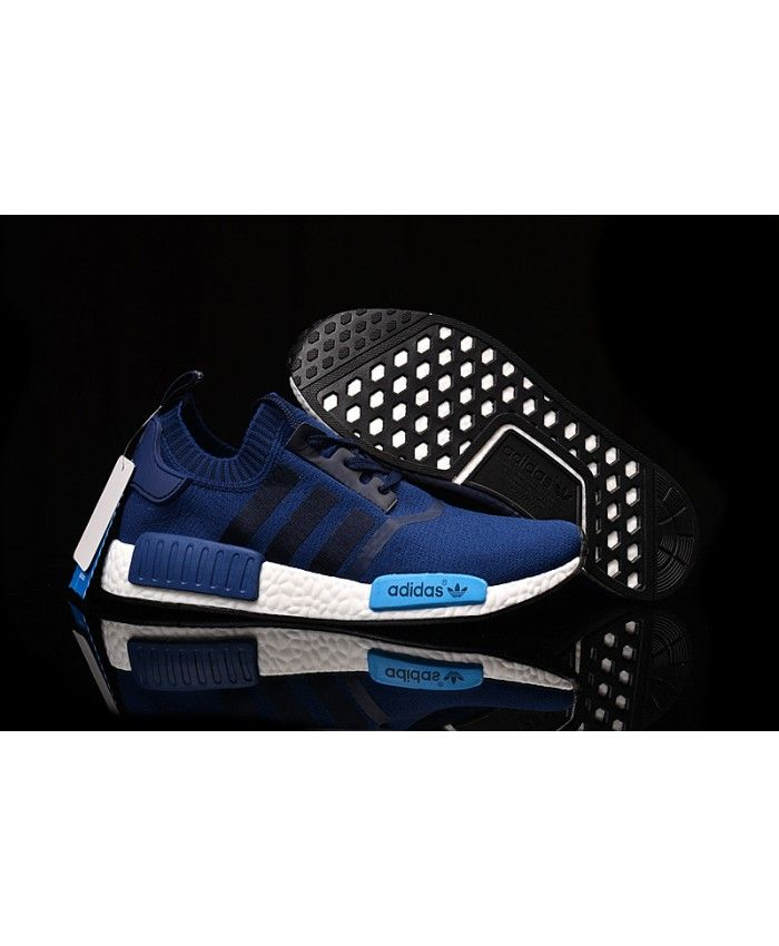 Adidas NMD PK Runner Deep Blue men women shoe