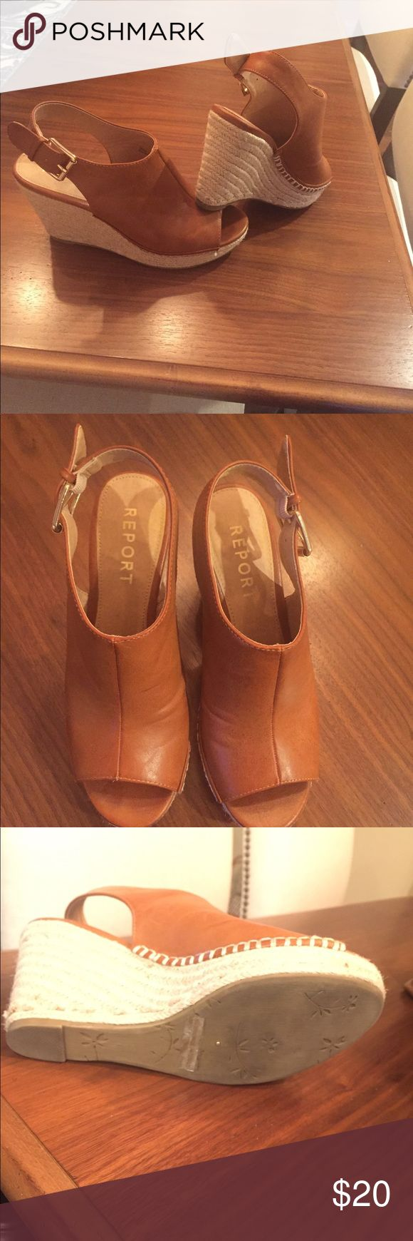 Report Wedges Slightly worn, very good condition. Report Shoes Wedges
