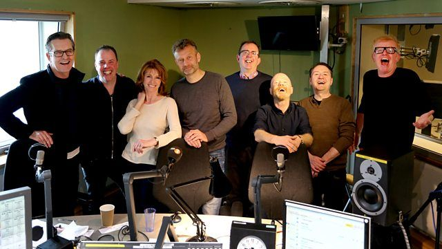 BBC Radio 2 - The Chris Evans Breakfast Show, Rupert Everett, Hugh Dennis, Jane Asher and Jimmy Somerville