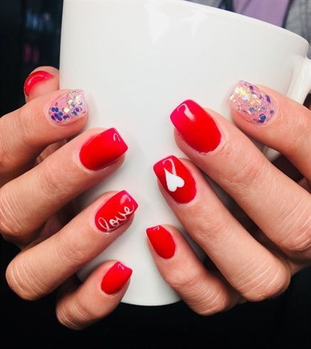 474 best valentines day nail art images on pinterest valentines day by nhall1229 from nail art gallery prinsesfo Images