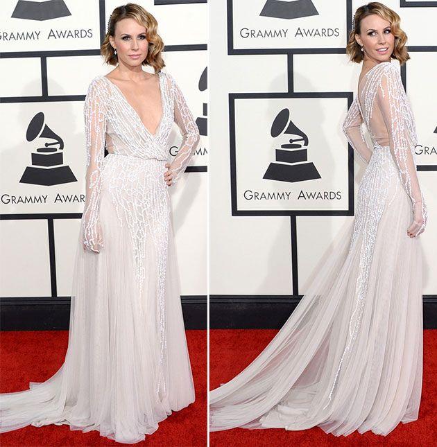 Keltie Knight at Grammy Awards 2014  #grammys #celebrities