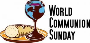 """October 2, 2016 """"May they all be one, as You, Father, are in Me and I am in You. May they also be one in Us, so the world may believe You sent Me."""" John 17:21, Holman Christian Standard Bible. Dear Friends, Sunday is World Communion Sunday. We will be sharing the Table of the Lord's Supper with Christians around the world. There is """"One Bread, One Body, One Cup of Blessing Which We Share with the Body of Christ with His people throughout the world. The bread and cup have great meaning…"""