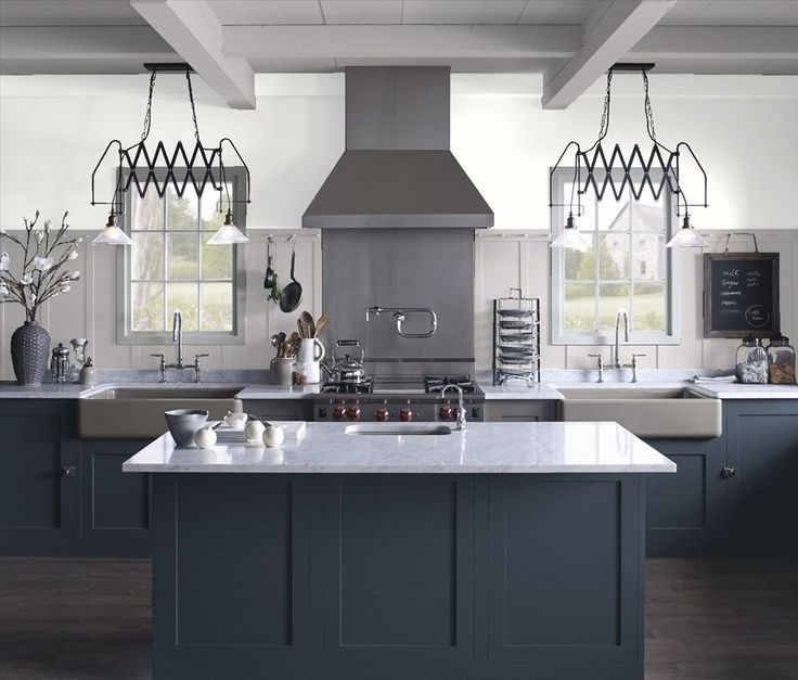 Benjamin Moore Antique White Kitchen Cabinets: 51 Best Kitchen Color Samples! Images On Pinterest