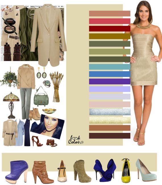 Бежевый цвет в нашем гардеробе: Дневник группы «Подбираем гардероб вместе!!!»: Группы - мода на Relook.ru