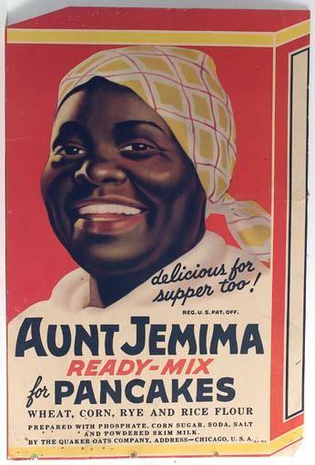 Aunt Jemima--fiction or not!