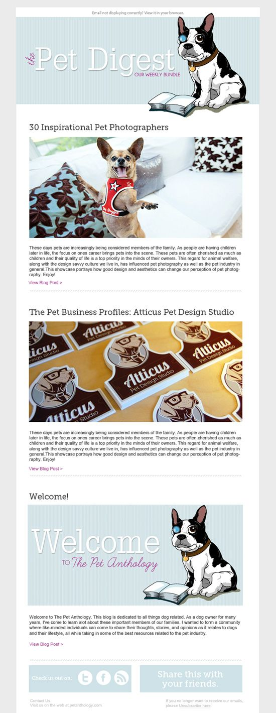 How to create a newsletter in PSD. Link on how to code a newsletter in HTML is at the bottom.