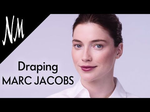 Draping Makeup Tutorial: How To Contour with MARC JACOBS Air Blush | NM…