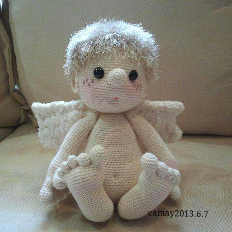 Ángel.... Crochet