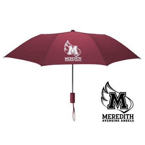 "Meredith College 42"" Folding Umbrella"