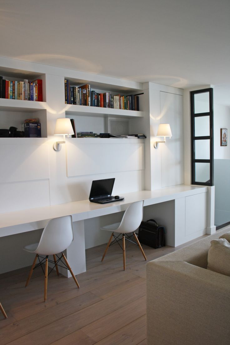 Meer dan 1000 ideeën over woonkamer bureau op pinterest   kantoor ...