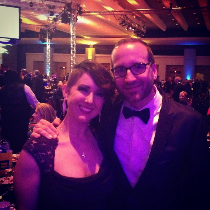 Triangle Steering Committee member, Cara Marél and HRC President, Chad Griffin