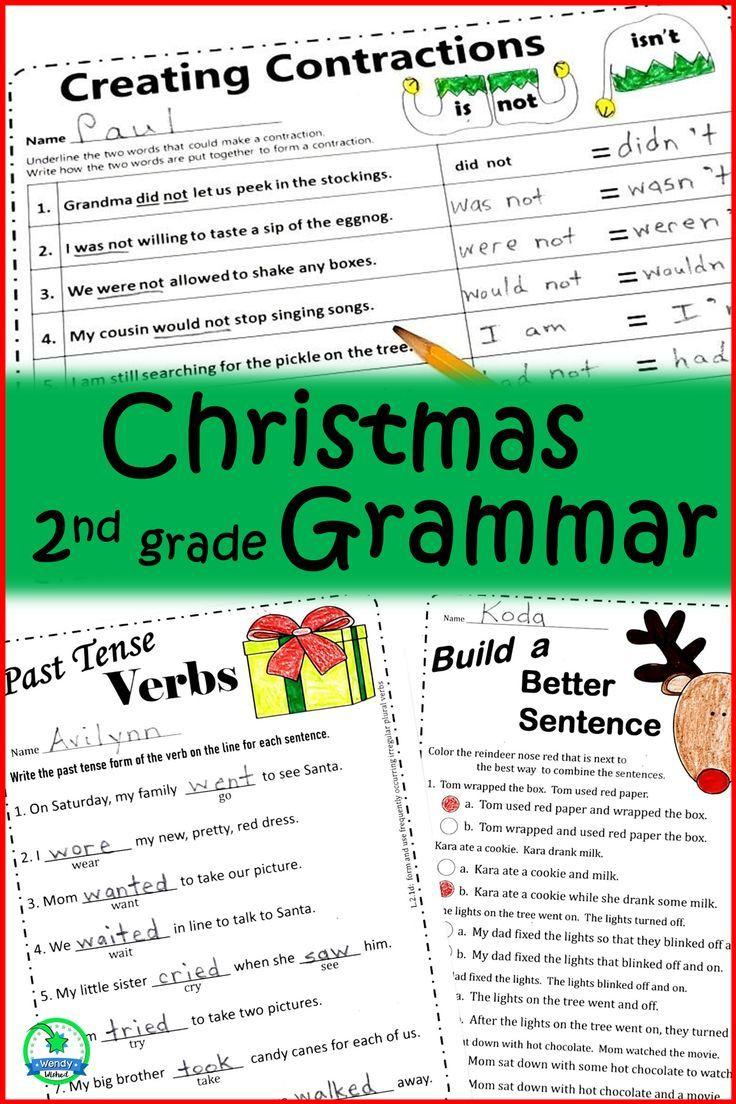 Predownload: Christmas Grammar Worksheets 2nd Grade Grammar Writing Lesson Plans Writing Lessons [ 1104 x 736 Pixel ]