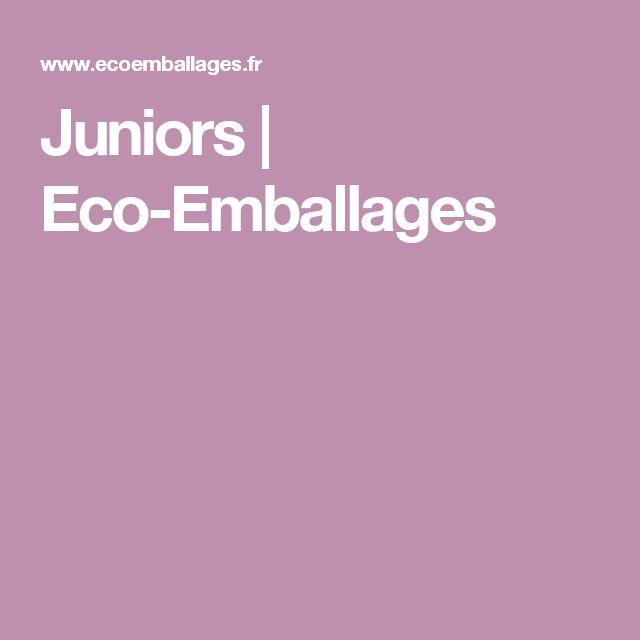 Juniors | Eco-Emballages